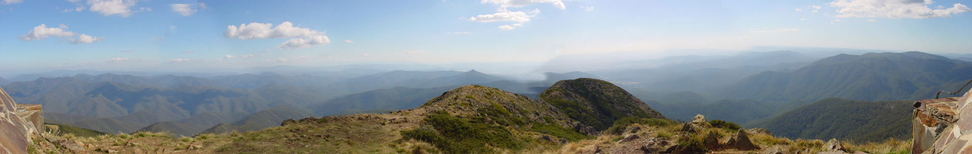 View from Mt Buller - west